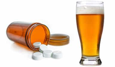 alcohol and antidepressants
