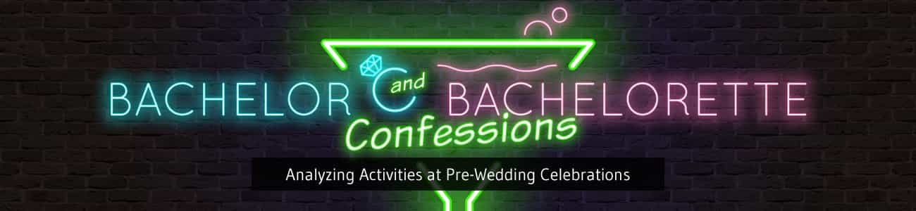 analyzing activities at pre-wedding celebrations like bachelor and bachelorette parties
