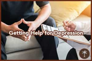 getting help for depression and addiction