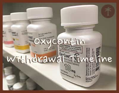 oxycontin withdrawal timeline and treatment options