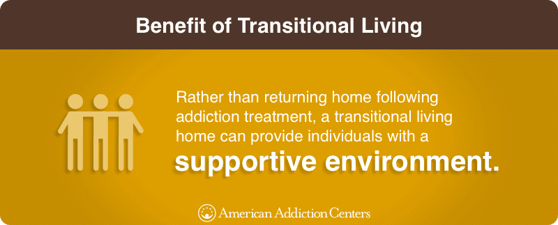 Benefit of Transitional Living